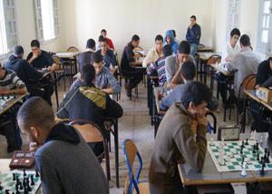Oujda : Les lycéens se mettent aux échecs