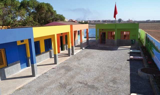 Karim Hajji inaugure une école  primaire à Casablanca