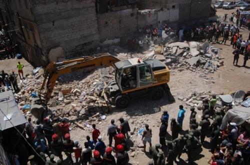Effondrement de deux maisons à Casablanca: pas de victimes