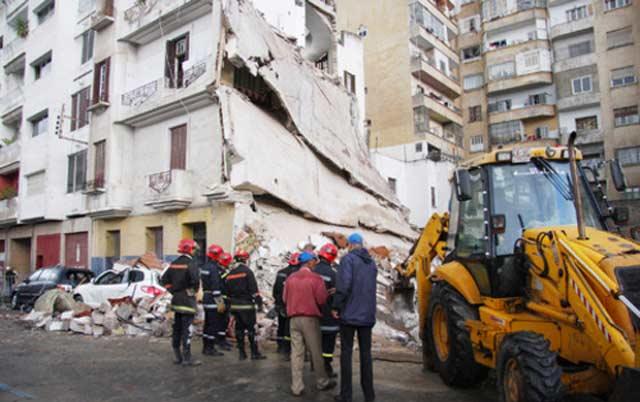 Deux morts et un blessé dans l'effondrement d'une maison à Casablanca