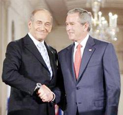 Les idées audacieuses d'Ehoud Olmert