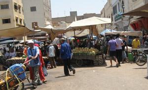 Beni Mellal : grogne contre les marchands ambulants