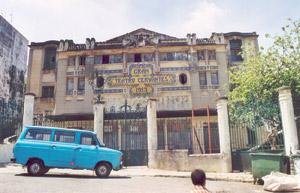 Tanger : La restauration du théâtre Cervantès en marche