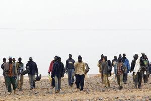 Baisse notoire du nombre des immigrants transitant par le Sud marocain