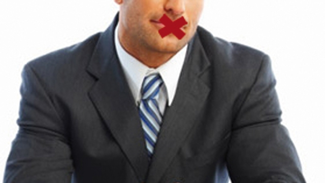 Entretien d embauche, un conseil : Taisez-vous!
