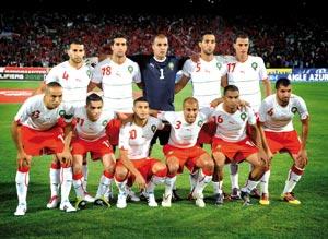 L'équipe nationale à un pas de la CAN 2012