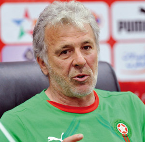 Éliminatoires CAN-2012 : Gerets «Le Maroc ira à Bangui pour gagner»