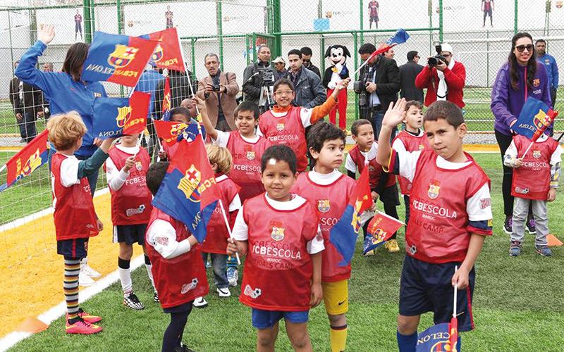 Le FC Barcelone Campus: Une «Escola» va ouvrir ses portes à Rabat
