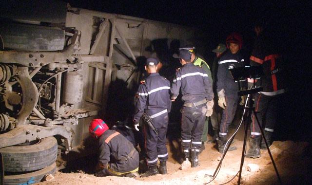 12 morts et 30 blessés dans un accident près d'Essaouira
