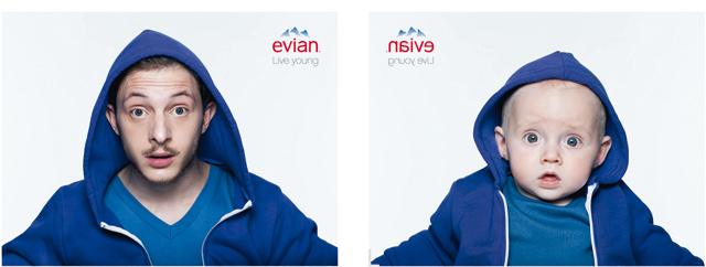 Une nouvelle campagne pour Evian