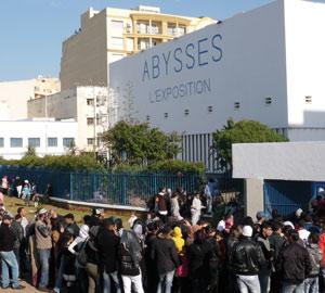 Trente mille visiteurs à «Abysses»