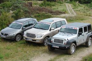 Elu 4×4 de l'Année 2008 : Le Jeep Wrangler rafle la couronne