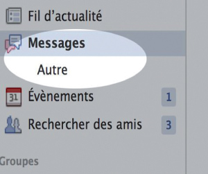 Vos messages loupés sur Facebook