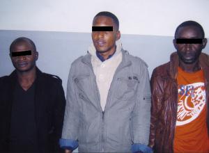 Trois Subsahariens, trafiquants de drogues dures, mis hors d'état de nuire