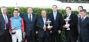 Courses hippiques  : l'écurie de Hakam Zakaria s'adjuge le Grand prix