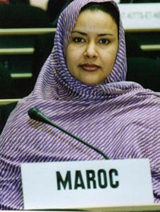 Fatimatou : pasionaria et diplomate