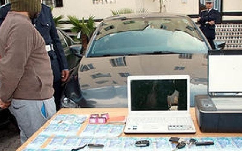Martil : Arrestation d'un faussaire de billets de banque