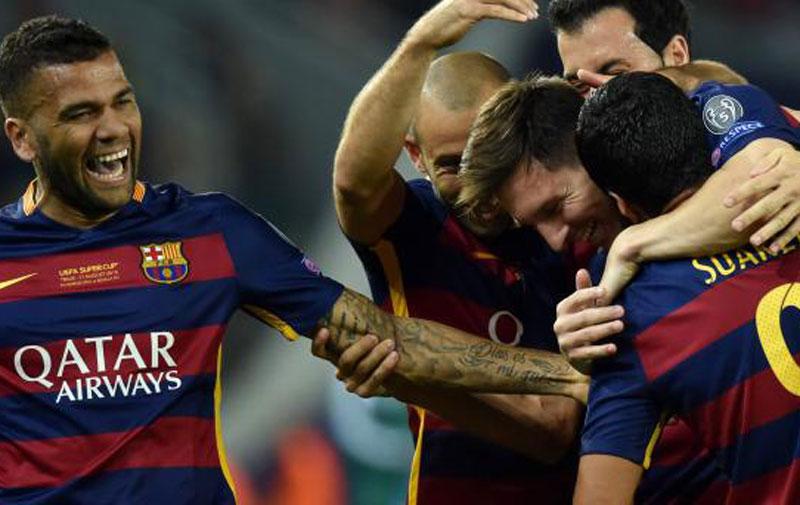 Supercoupe d'Europe : le Barça s'impose dans la douleur
