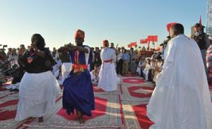 Aousserd : clôture en apothéose du festival de Tiris