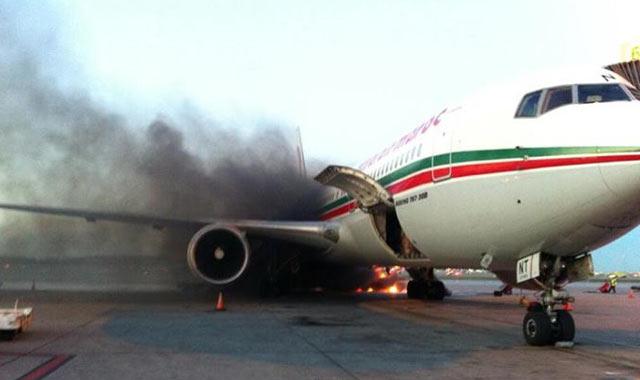 Incendie à l aéroport de Montréal : l'avion de la RAM de retour au Maroc