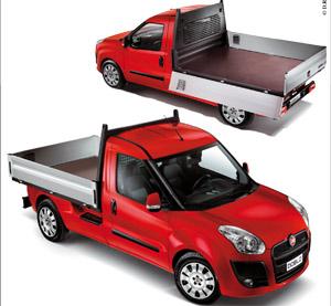 Véhicules utilitaires : Fiat Doblò Work Up : Un pick-up pas comme les autres