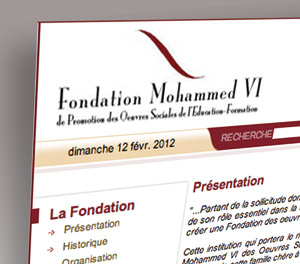 Un nouveau portail Internet pour la Fondation Mohammed VI