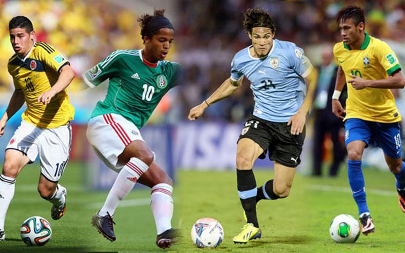 Coupe du monde 2014 : Les Latins savent jouer au foot