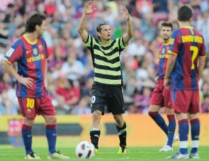 Championnat d'Espagne : l'Atletico Madrid reste leader, le Barça à terre