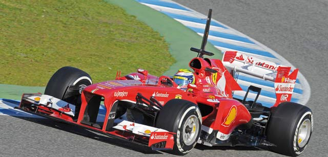 Formule 1 : Les essais à Jerez