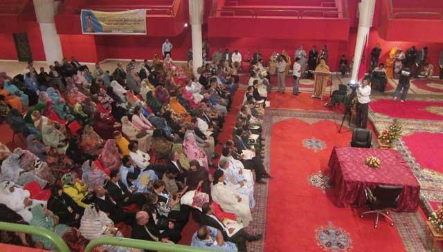 Laâyoune  : L Espace associatif se mobilise  pour le développement de la région