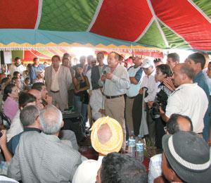 Fouad Ali El Himma lance sa campagne dans les Rhamna