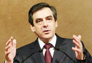 François Fillon en service commandé