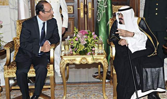 Hollande en visite officielle en Arabie Saoudite