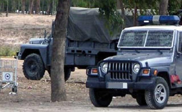 Passation d armes entre  la gendarmerie royale et la police à la périphérie de Casablanca