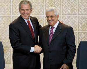 George W.Bush promet un Etat aux Palestiniens