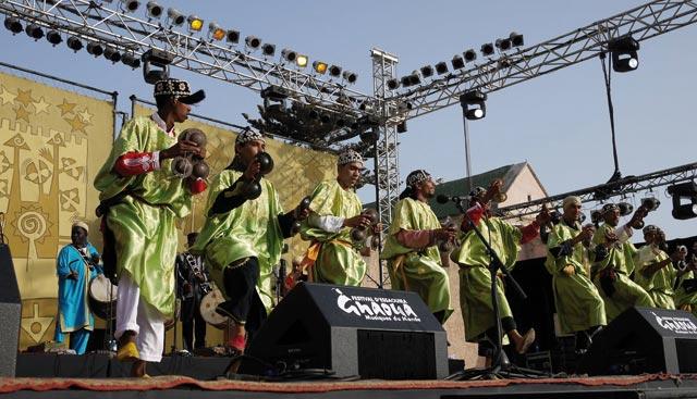 16ème édition du Festival Gnaoua et musiques du monde : De la transe en l'air !
