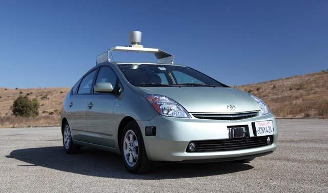 Voiture Google : Y a-t-il un  pilote dans  la voiture ?