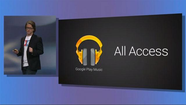 Google lance «Google Plays All Access», nouveau service de musique en ligne