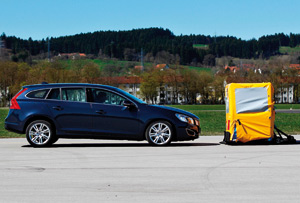 Freinage automatique de Volvo : Efficace selon l'ADAC