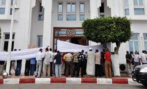 Nador : Les salariés de Sofrenor en sit-in