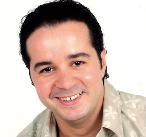 Hafid Elbadri a de l'humour dans les veines