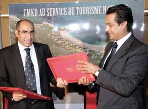 Convention de partenariat entre l'Anapec et le CMKD