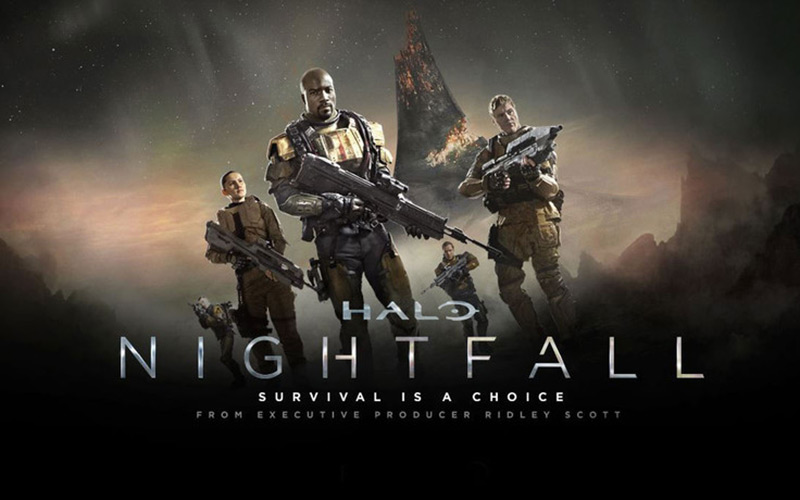 « Halo : Nightfall », série événement