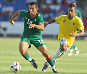 éliminatoires CAN-2012 : L'attaquant Mounir El Hamdaoui absent contre l'Algérie à Marrakech