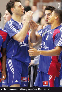 Championnat d'Europe de handball : les Français champions d'Europe