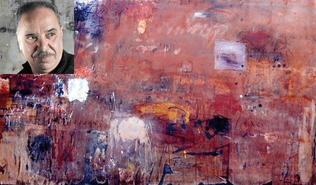 Exposition: Hassan Bourkia peint Nietzsche à la lumière de ses textes