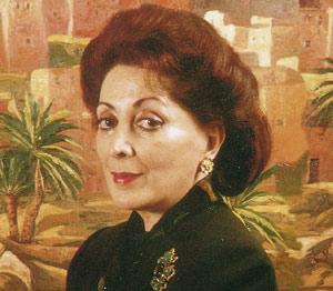 Hommage à l'artiste-peintre Meriem Mezian