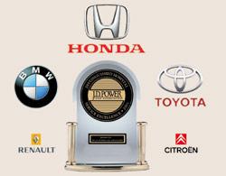 Automobile : Honda, BMW, Toyota : Au top selon JD Power