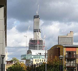 Le plus haut gratte-ciel d'Europe crée la polémique à Londres