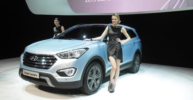 Hyundai :  Le SantaFe s agrandit